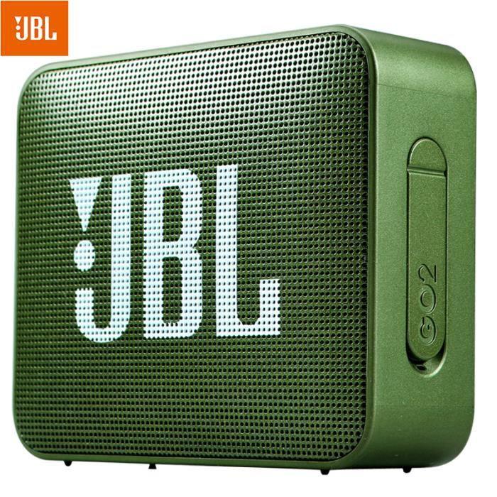 JBL GO 2 Enceinte Bluetooth Etanche Portable-forêt verte