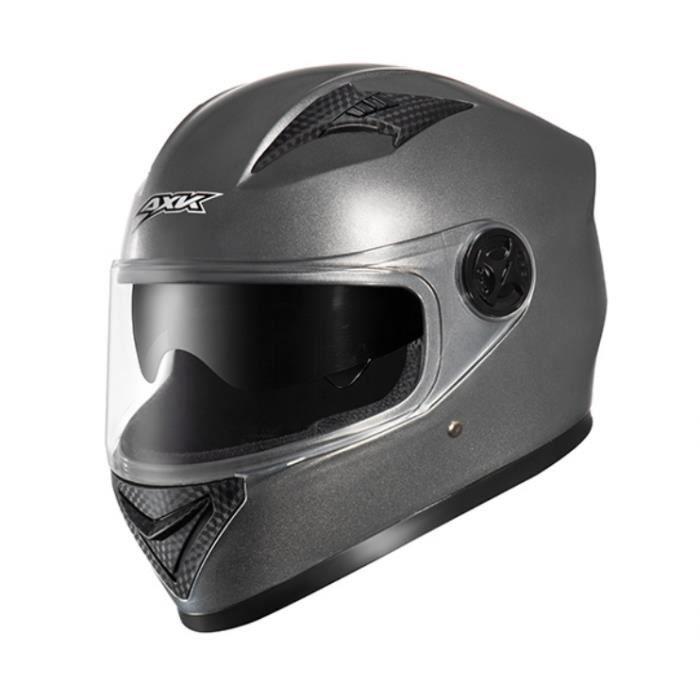 YILEI-Casque de moto de marque de luxe casque intégral double lentille anti-buée respirant résistant à l'usure de haute qualité