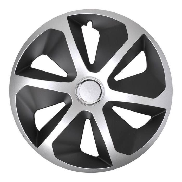 ProPlus hubcap Roco 13 pouces ABS noir / argent pièce