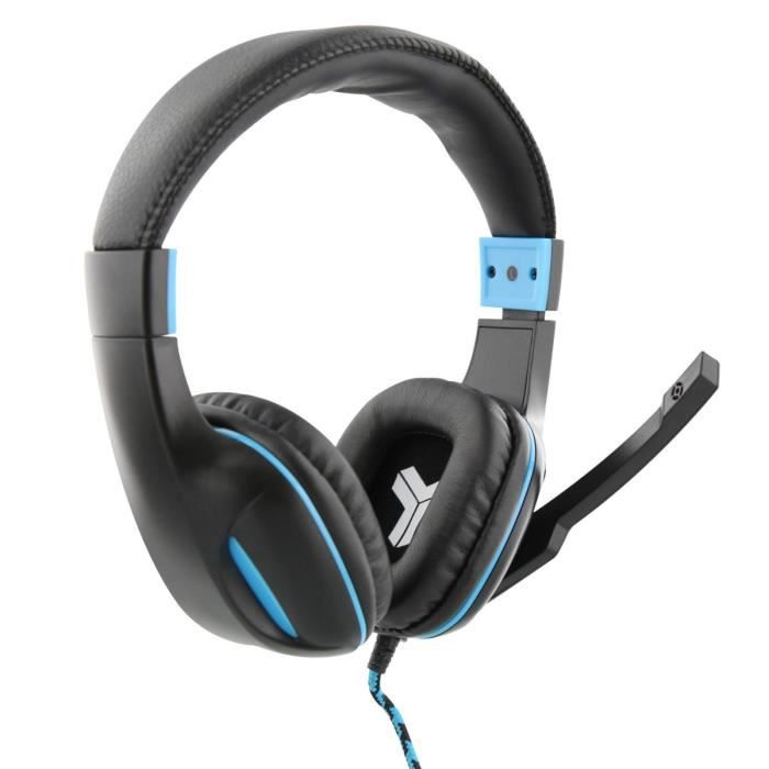 T'nB Micro-Casque Gamer Gamer ELYTE HAWK Filaire - PC/Mac/PS4