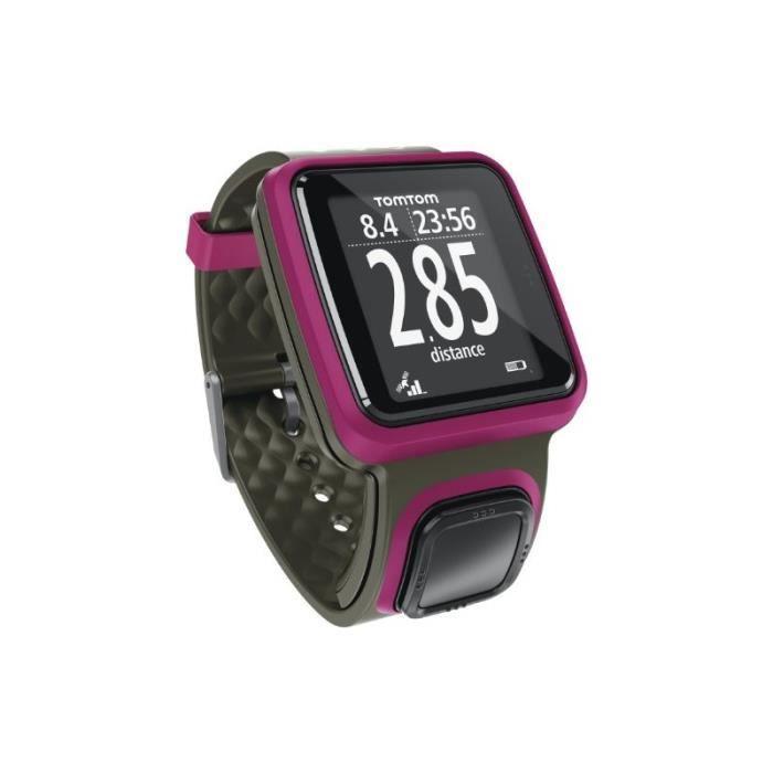 Montre GPS TomTom Runner Rose foncé (1RR0.001.01)