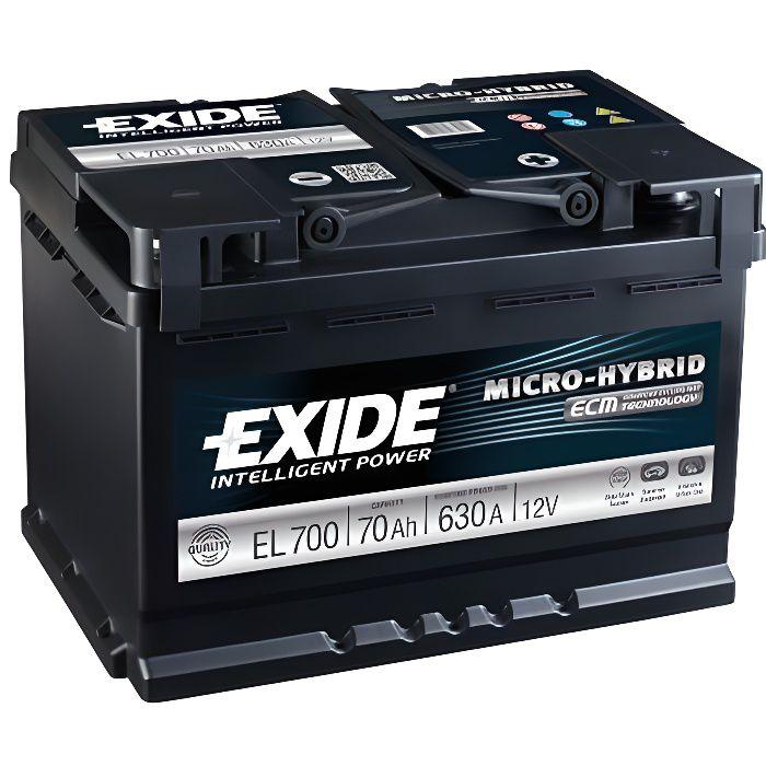 Batterie de démarrage EXIDE EL700