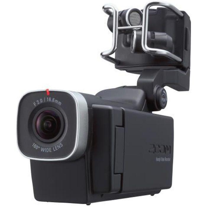 Zoom Q8 - Caméscope - 1 296 p - 30 pi-s - 3.0 MP - carte Flash