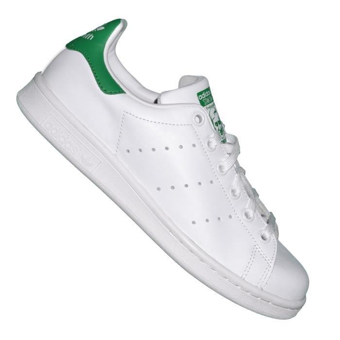 Adidas Originals - Baskets - Stan Smith homme - Blanc Vert ...