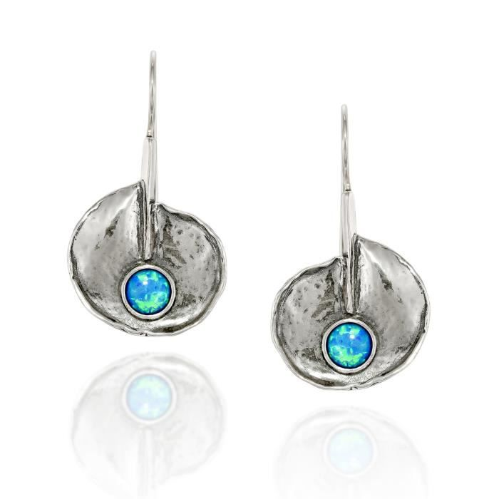 Nouveau Jaune Quartzite Boucles d/'oreilles-Argent Sterling percé Dangles