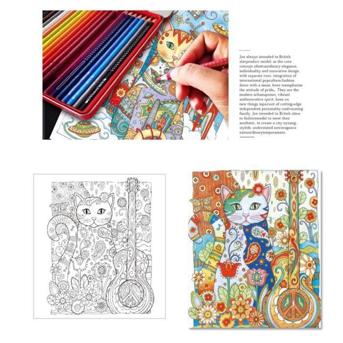 Fun Adult Coloring Book Designs Livre De Coloriage Anti Stress Mandalas Animaux Nlzj70703228 Achat Vente Livre De Coloriage Cdiscount
