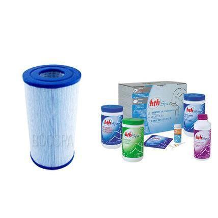 Pack D Entretien Filtre Traitement A L Oxygene Actif Hth
