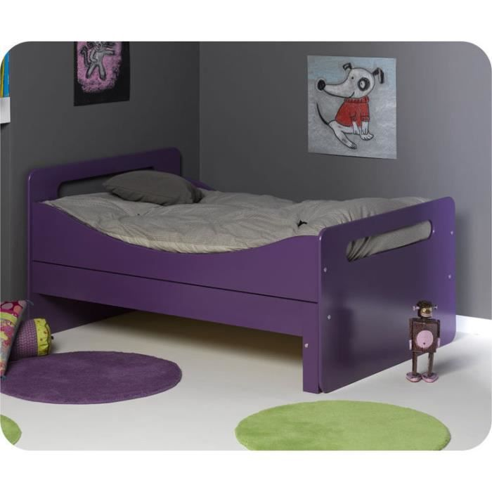 eb lit enfant volutif eden violet achat vente lit evolutif eb lit enfant volutif ed. Black Bedroom Furniture Sets. Home Design Ideas