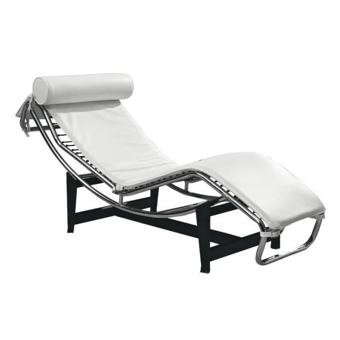 chaise longue le corbusier achat vente pas cher. Black Bedroom Furniture Sets. Home Design Ideas