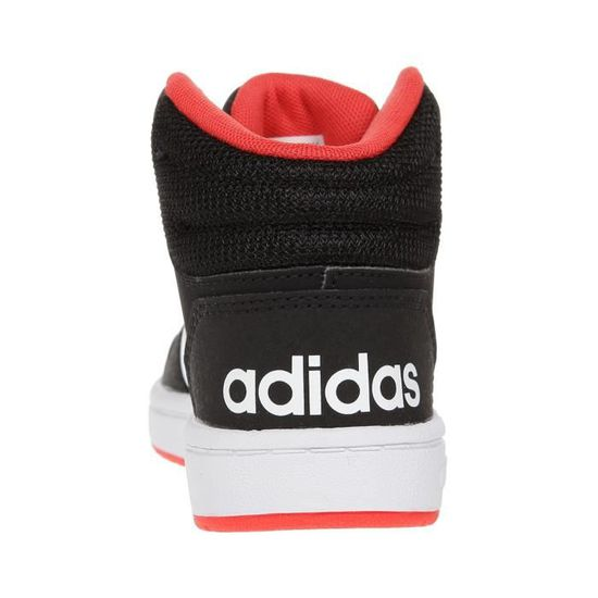 ADIDAS Baskets Montante Hoops Mid 2.0 Junior Noir