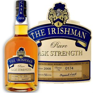 WHISKY-BOURBON-SCOTCH Irishman Cask Strength