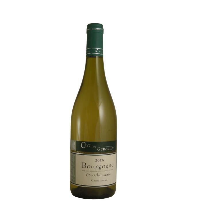 Vignerons de Genouilly 2016 Côte Chalonnaise - Vin blanc de Bourgogne