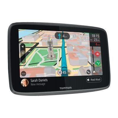 TOMTOM GO 520 Cartographie Monde Trafic Zones de Danger à vie et Appel Mains-Libres (1PN5.002.04) Noir