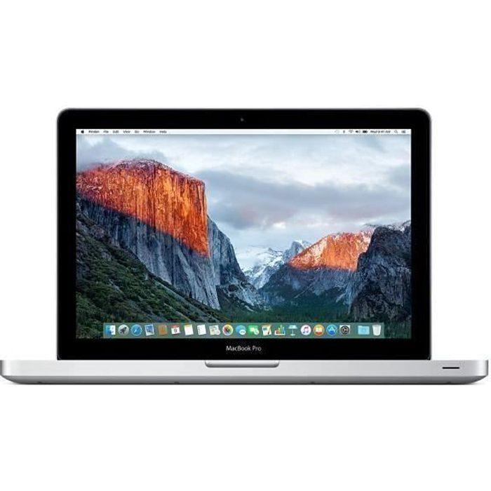 APPLE MacBook Pro 15- 2012 i7 - 2,3 Ghz - 4 Go RAM - 500 Go HDD - Gris - Reconditionné - Etat correct