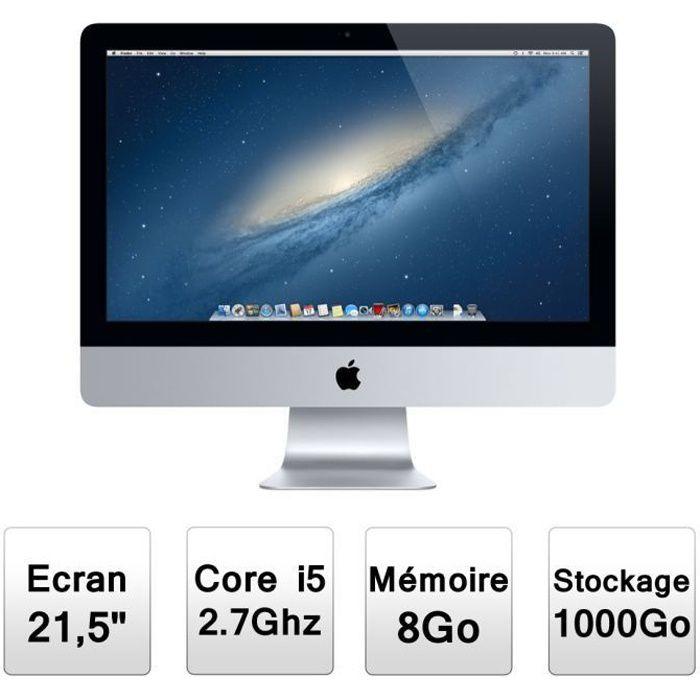 Apple Tout En Un iMac 21,5- ME086F/A