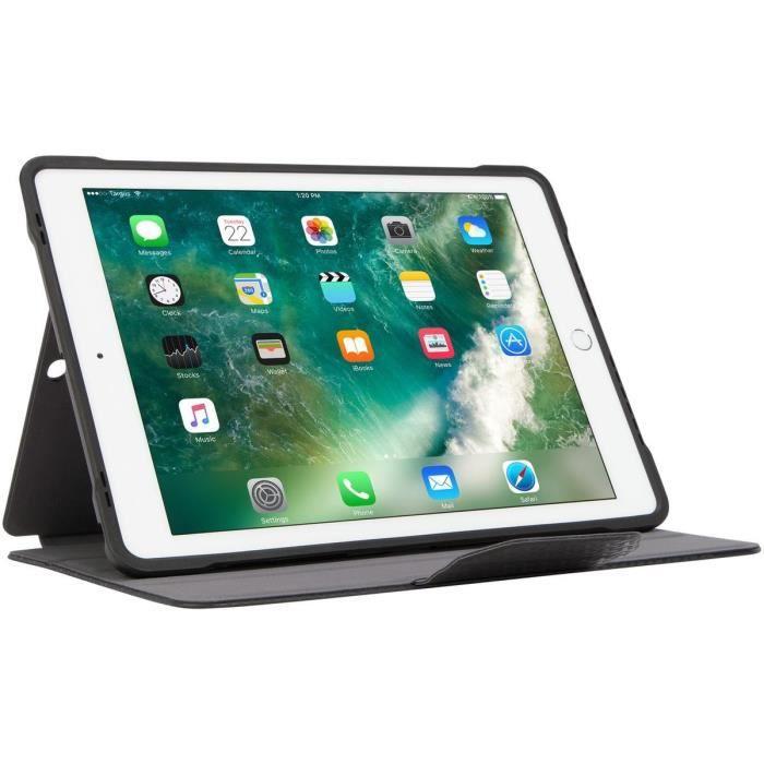 Targus Etui Click In pour Ipad (6th gen. / 5th gen.), Ipad Pro (9.7 inch), Ipad Air 2, et Ipad Air Noir