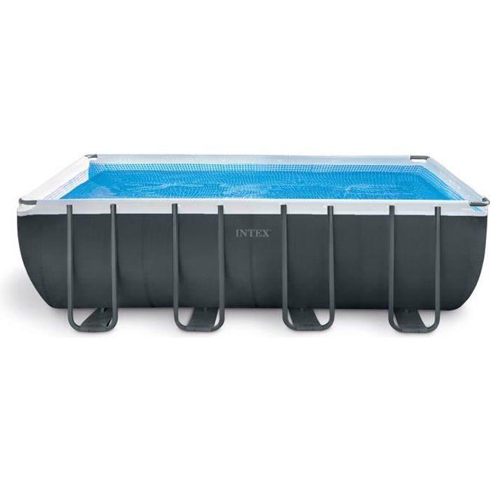 Kit piscine tubulaire - INTEX - Ultra XTR - Rectangulaire - (l)5,49 x (l)2,74 x (h)1,32 m