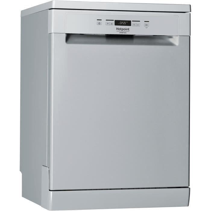 HOTPOINT HFC 3C26 SV - Lave vaisselle posable - 14 couverts - 46dB - A++ - Larg 60 cm - Moteur induction