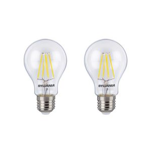 SYLVANIA Lot de 2 ampoules LED RETRO Filament A60 E27 40W