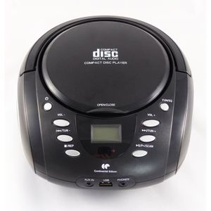 RADIO CD CASSETTE CONTINENTAL EDISON BBOX16B4 Boombox CD USB Radio