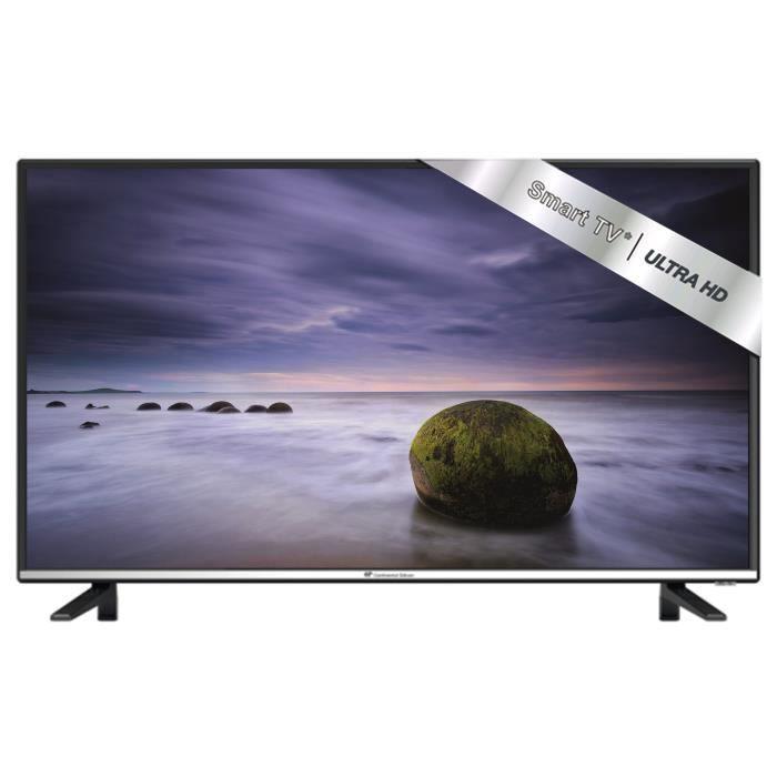 Téléviseur LED CONTINENTAL EDISON TV Smart Android 4K UHD 102cm (