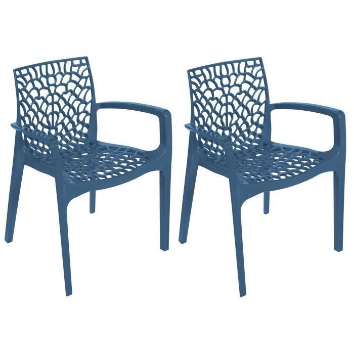 FAUTEUIL JARDIN  GREEN BOHEME lot de 2 fauteuils de jardin Gruvyer