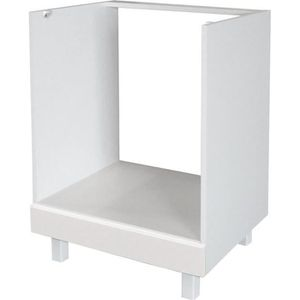 ELEMENTS BAS POP Caisson four bas 60 cm - Blanc Brillance