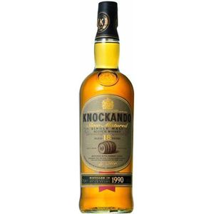 WHISKY BOURBON SCOTCH Knockando Slow Matured 18 ans - Speyside Single Ma