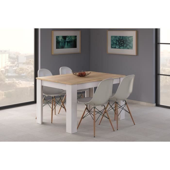 table 90x140 extensible achat vente table 90x140 extensible pas cher cdiscount. Black Bedroom Furniture Sets. Home Design Ideas