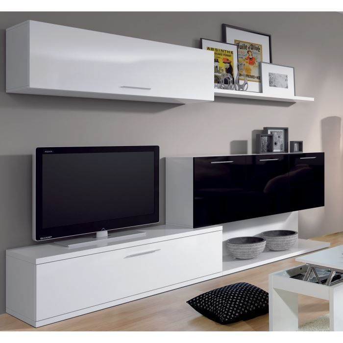 meuble tv ikea noir et blanc solutions pour la d coration int rieure de votre maison. Black Bedroom Furniture Sets. Home Design Ideas