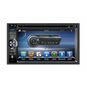 autoradio double din gps achat vente autoradio double din gps pas cher cdiscount. Black Bedroom Furniture Sets. Home Design Ideas