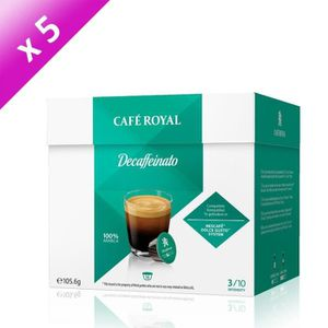 CAFÉ CAFE ROYAL Décaffeinato Système Nescafé 16 dosette