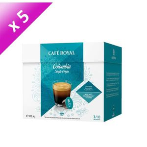 CAFÉ 80 capsules CAFÉ ROYAL de café Single Origine Colo