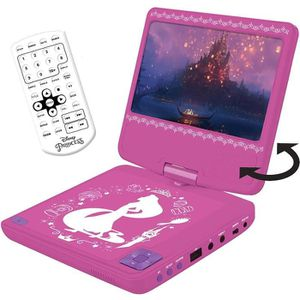 LECTEUR DVD ENFANT LEXIBOOK Disney Princesses Lecteur DVD portable po