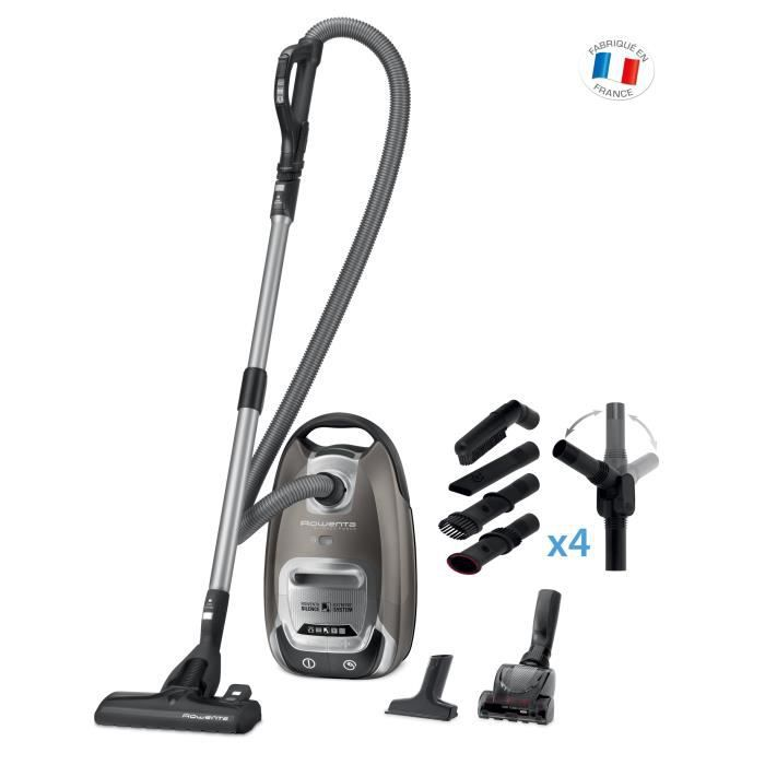 rowenta silence force 4a home car pro aspirateur avec sac ro6466ea achat vente. Black Bedroom Furniture Sets. Home Design Ideas