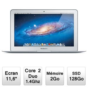 ORDINATEUR PORTABLE Apple MacBook Air (MC506F/A)