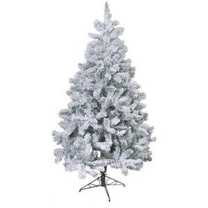 SAPIN - ARBRE DE NOËL Sapin de Noël artificiel Floqué - 218 branches - 1
