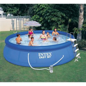 PISCINE Piscine Easy Set Intex 4.57 x 1.07m