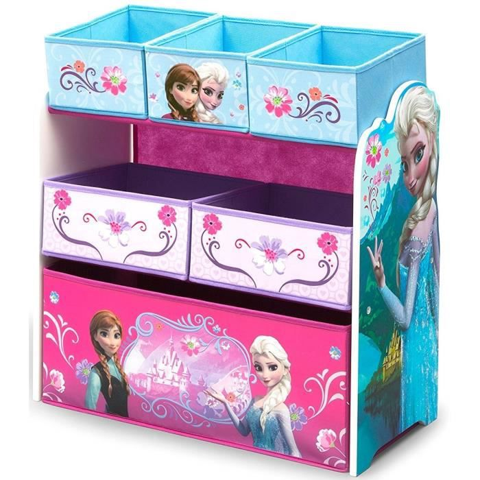 la reine des neiges meuble de rangement enfant jouets 6. Black Bedroom Furniture Sets. Home Design Ideas