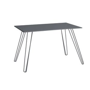 table de jardin en aluminium avec rallonge achat vente pas cher cdiscount. Black Bedroom Furniture Sets. Home Design Ideas