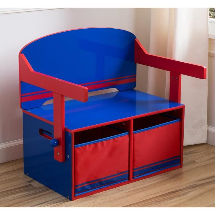 bureau convertible enfant bois avec rangement achat. Black Bedroom Furniture Sets. Home Design Ideas