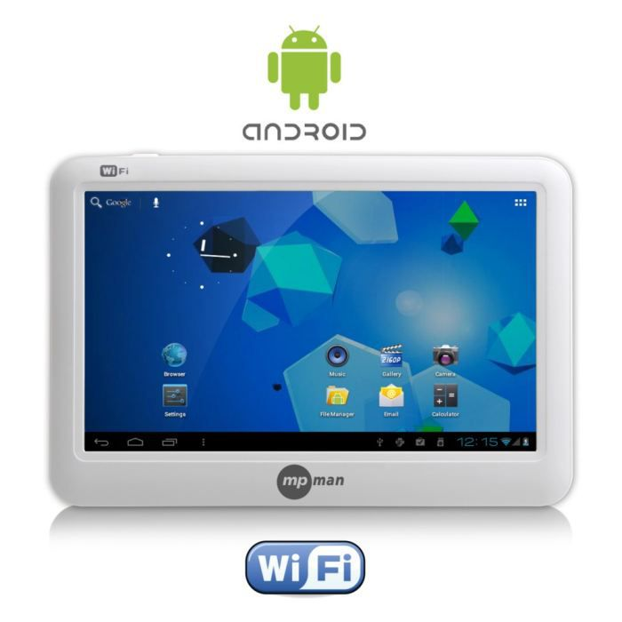 Mpman mp444 16go tablette internet android tablette tactile prix pas cher - Tablette murale pas cher ...