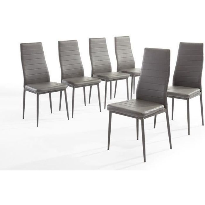 Cheap Sam Lot De Chaises De Salle Manger Grises With