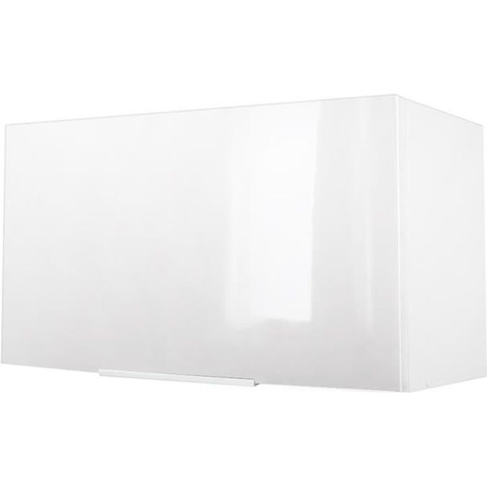 ÉLÉMENTS HAUT POP Meuble hotte L 60 cm - Blanc brillant