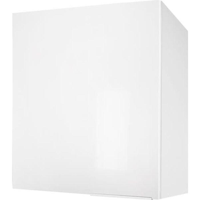 ÉLÉMENTS HAUT POP Caisson haut de cuisine 60 cm - Blanc haute br
