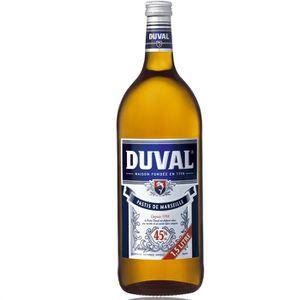Apéritif anisé Duval Pastis 1,5L Magnum