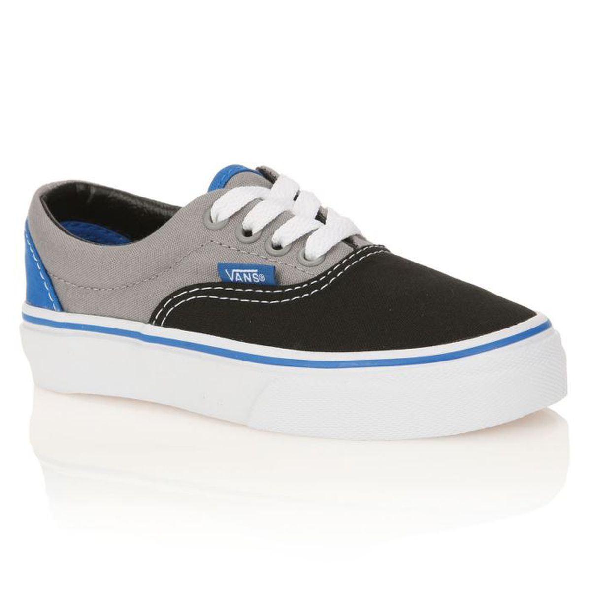 vans baskets era enfant gar on noir gris bleu achat vente basket cdiscount. Black Bedroom Furniture Sets. Home Design Ideas