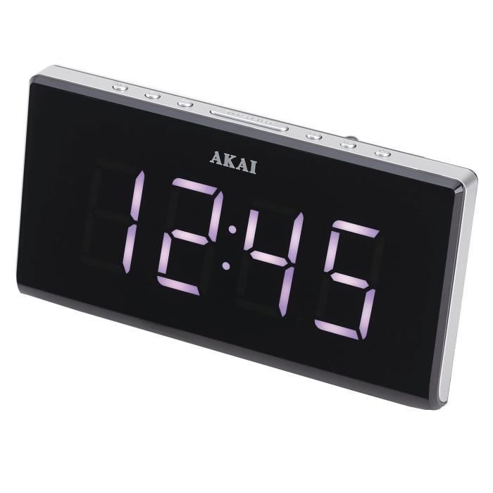 akai ac 136ks radio r veil snooze radio r veil avis et prix pas cher cdiscount. Black Bedroom Furniture Sets. Home Design Ideas