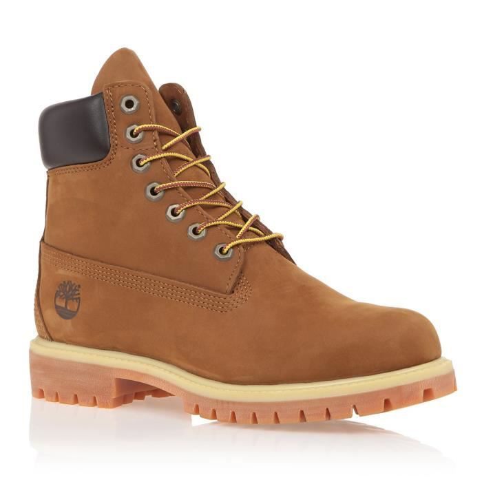 TIMBERLAND Bottines 6 Premium Homme Marron Rouille