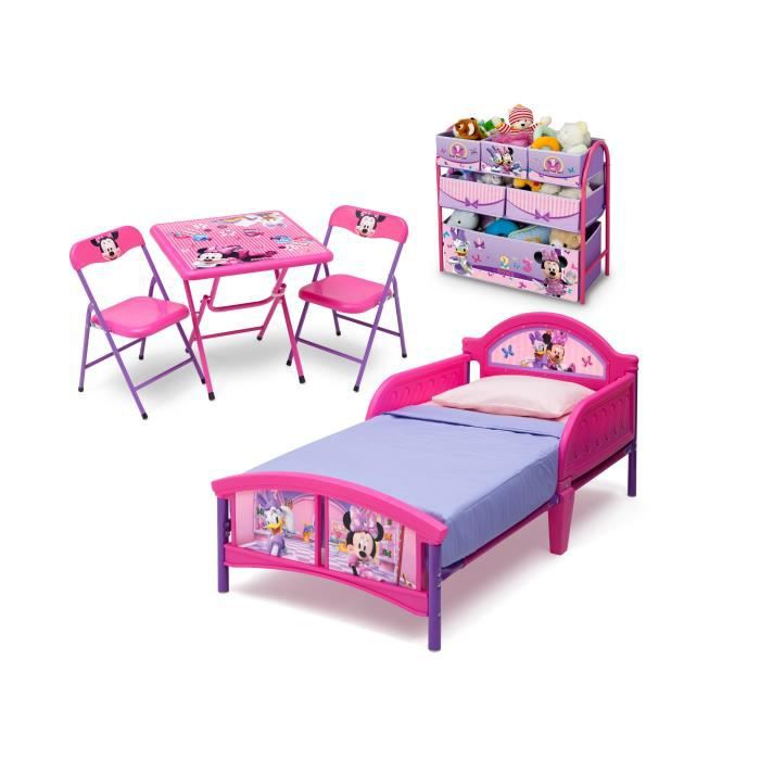minnie chambre enfant compl te tout en un achat vente chambre compl te cdiscount. Black Bedroom Furniture Sets. Home Design Ideas